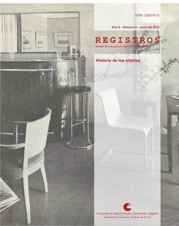 REGISTROS 8 (2012). Historia de los objetos